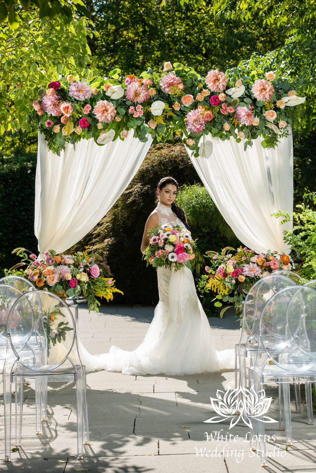 162- SPRING GARDEN WEDDING INSPIRATION
