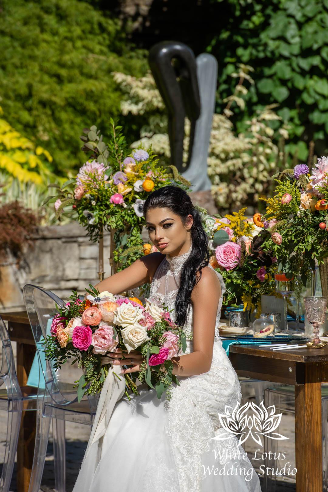 123- SPRING GARDEN WEDDING INSPIRATION