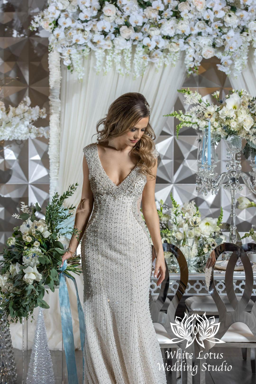 154- GLAM WINTERLUXE WEDDING INSPIRATION