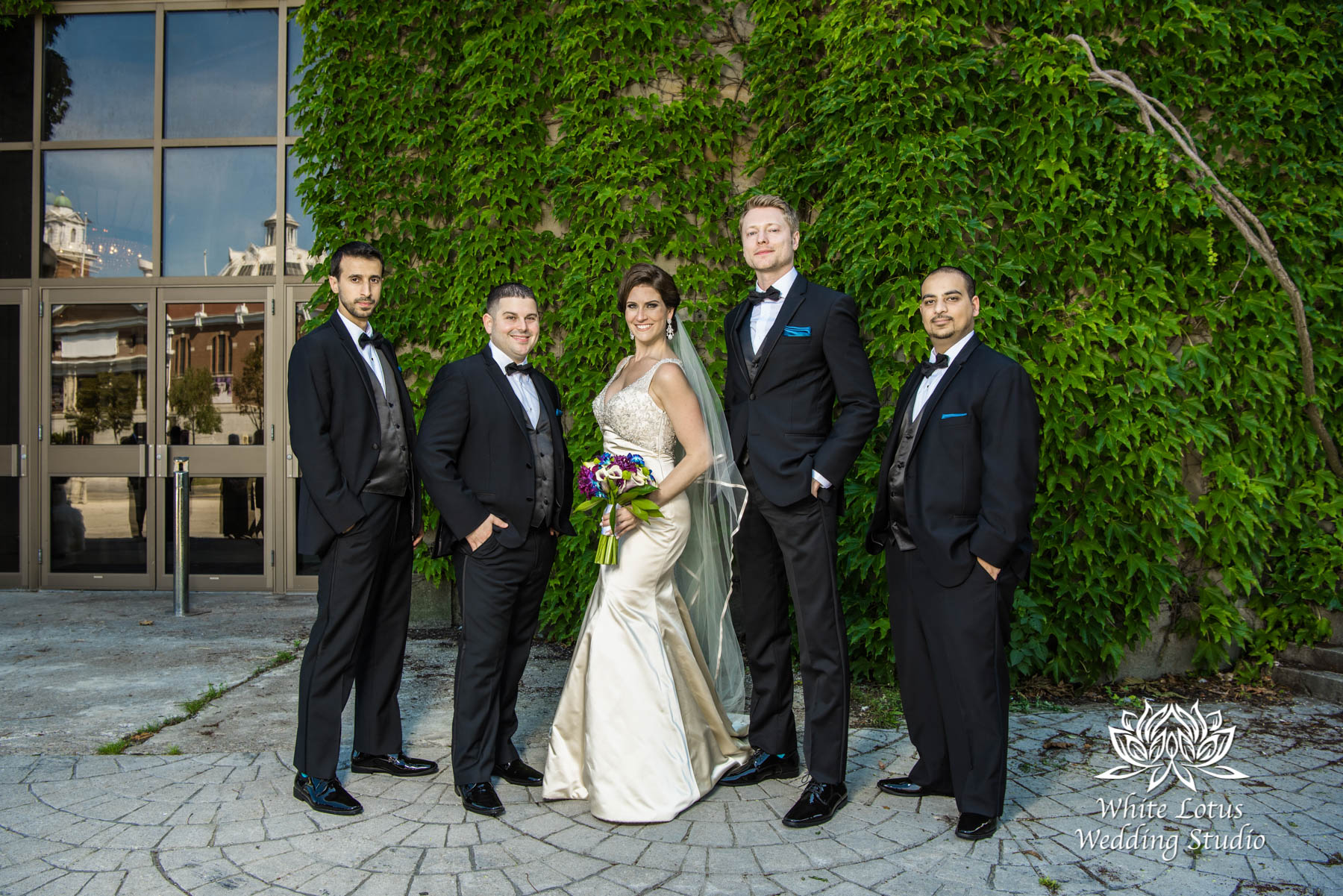 161 - Wedding - Toronto - Liberty Grand - Bridal Party - PW