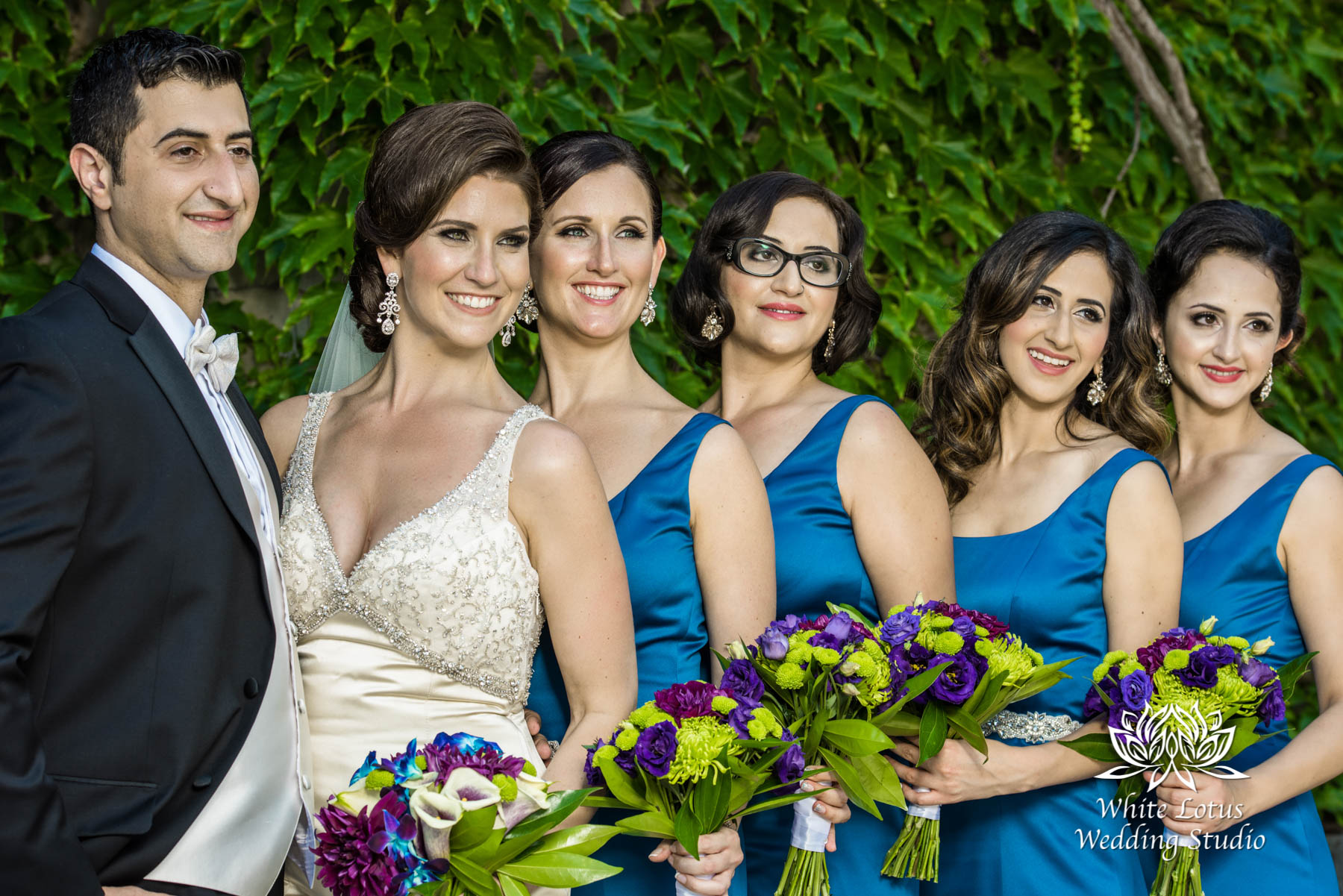 132 - Wedding - Toronto - Liberty Grand - Bridal Party - PW