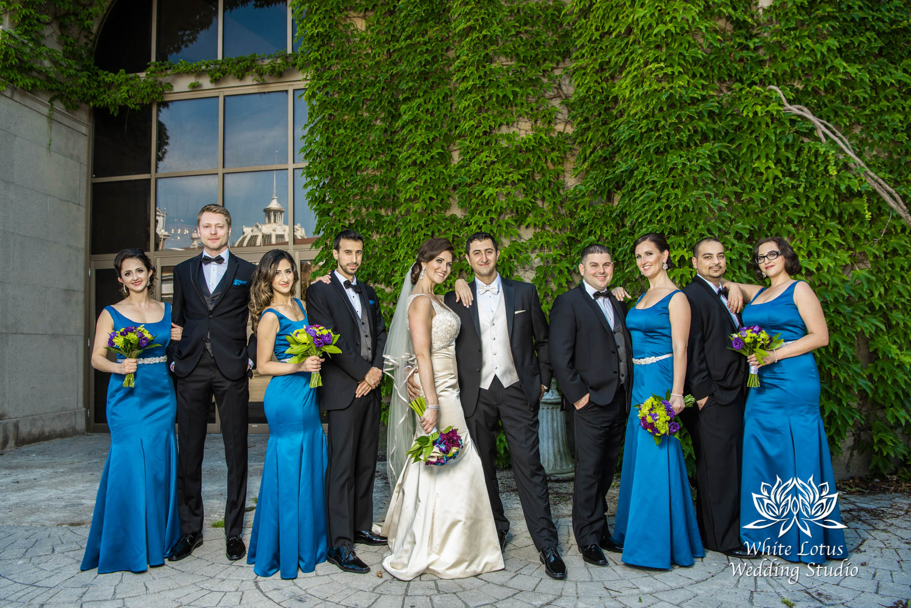 138 - Wedding - Toronto - Liberty Grand - Bridal Party - PW