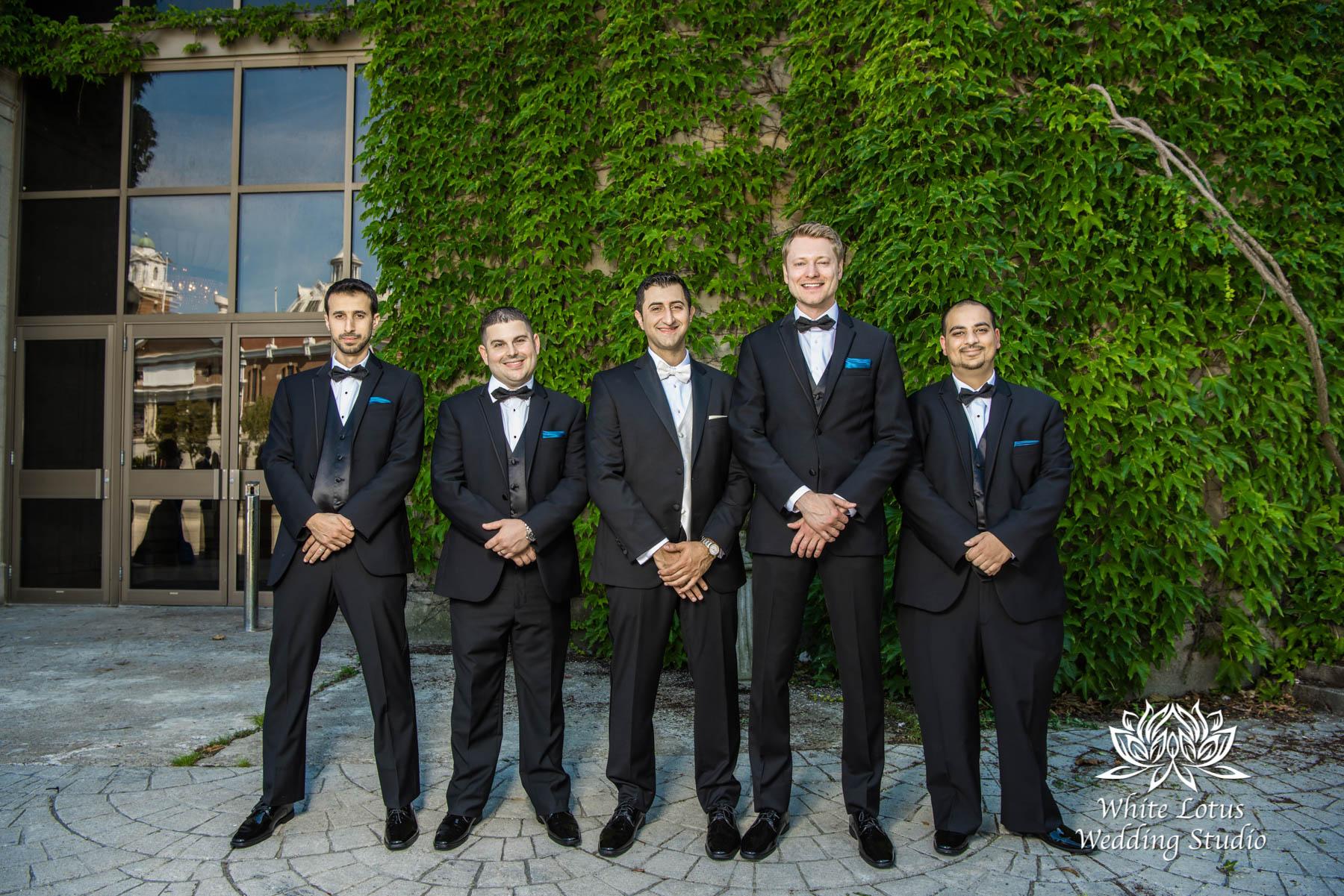 169 - Wedding - Toronto - Liberty Grand - Groomsmen - PW