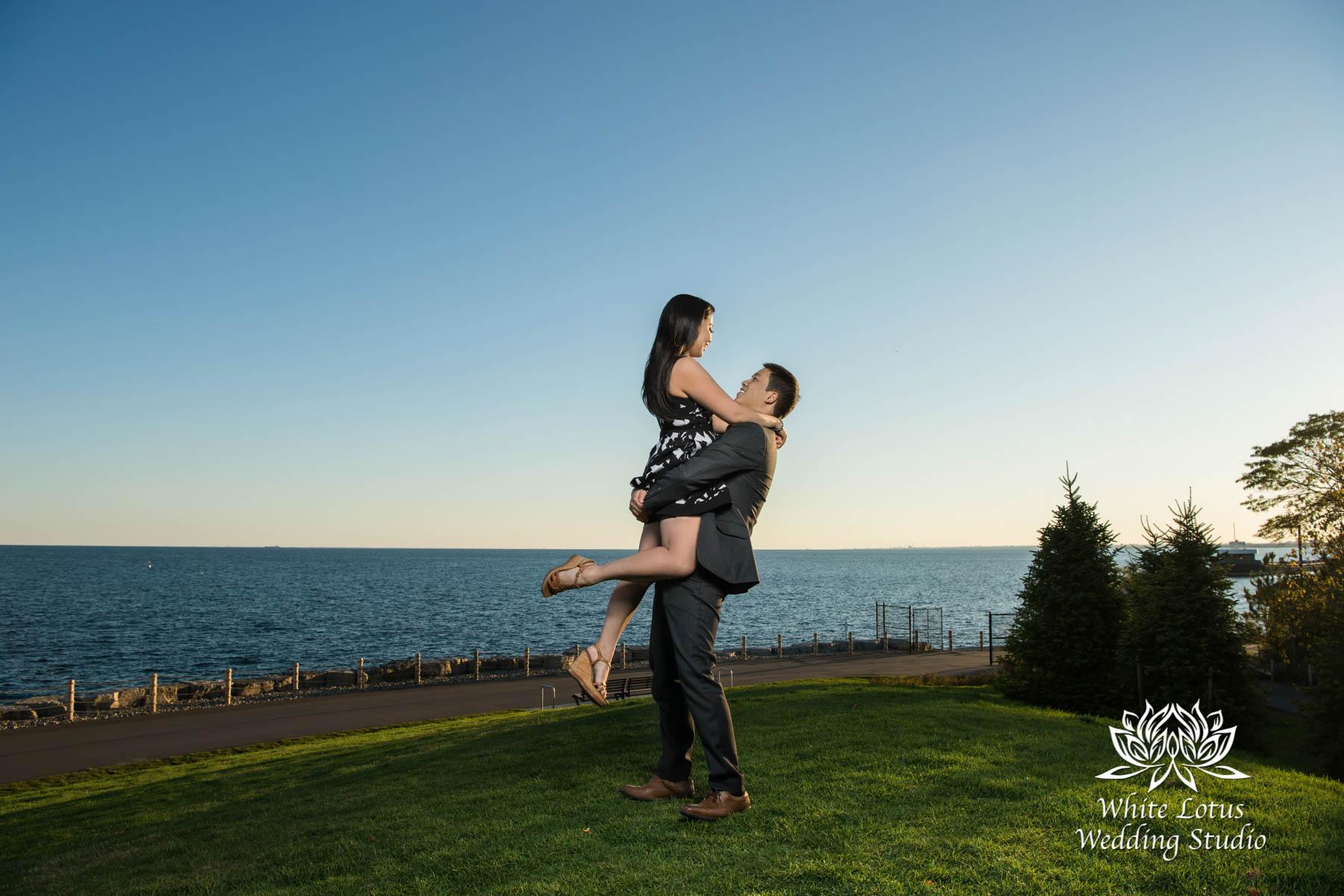 044 - Trillium Park - Toronto - Engagement