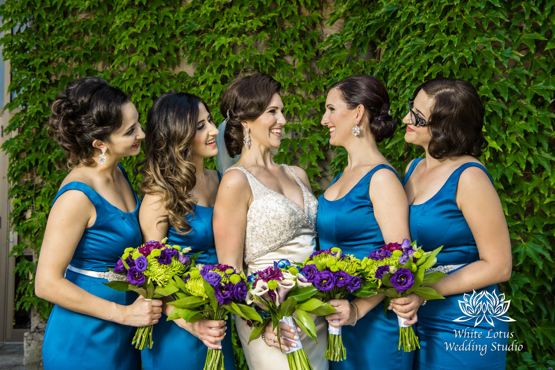 148 - Wedding - Toronto - Liberty Grand - Bridesmaids - PW