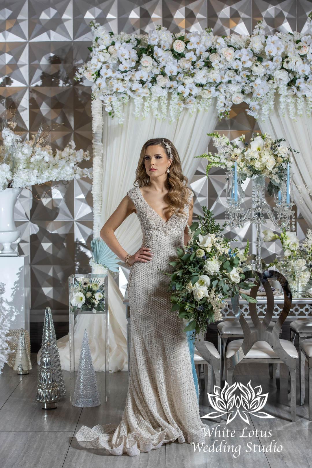 153- GLAM WINTERLUXE WEDDING INSPIRATION