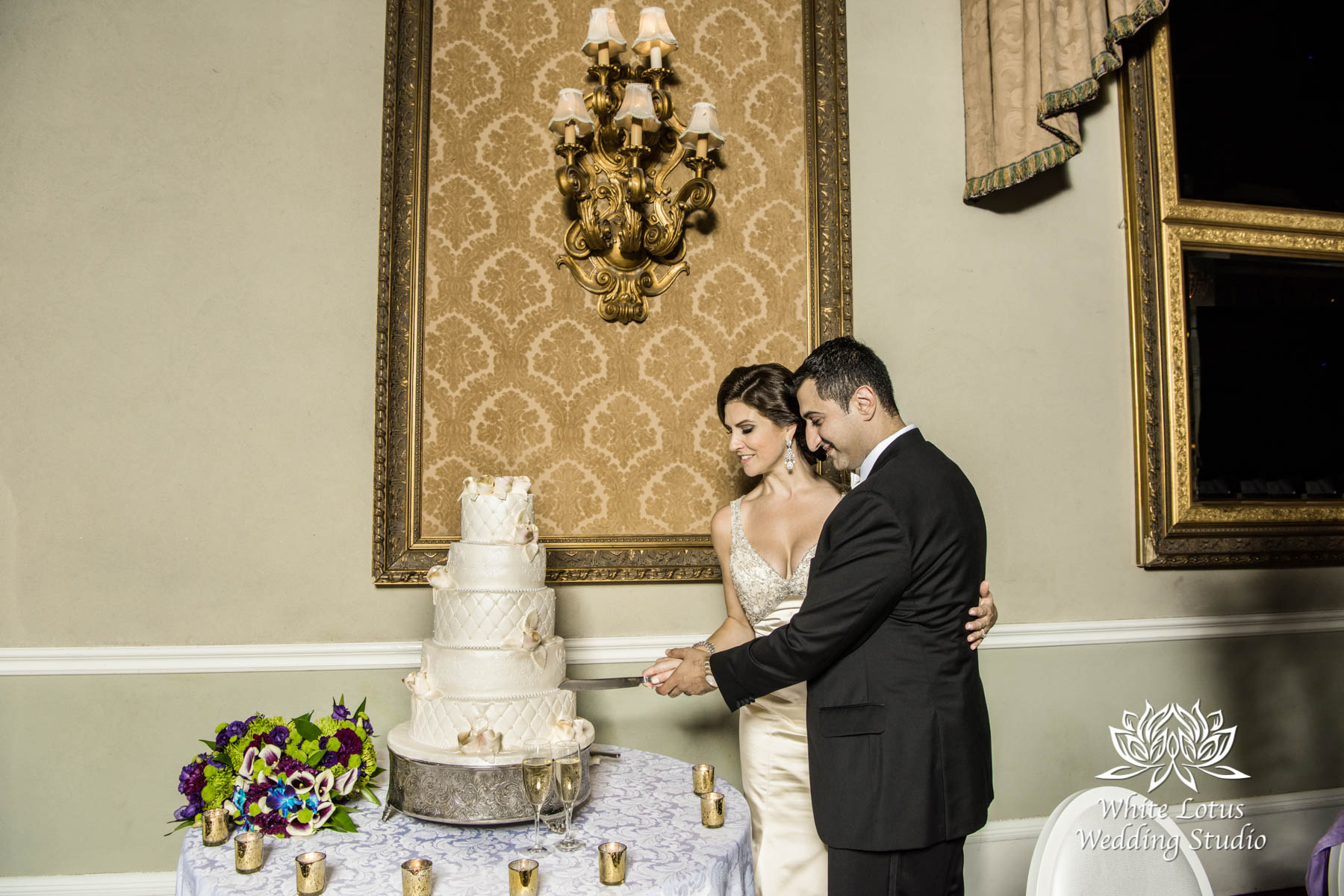 314 - Wedding - Toronto - Liberty Grand - Cake Cutting - PW