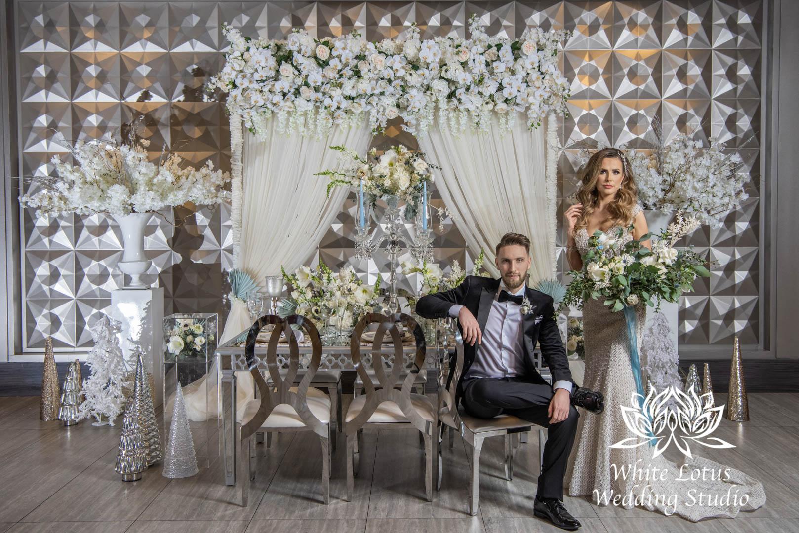 143- GLAM WINTERLUXE WEDDING INSPIRATION