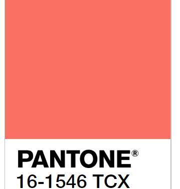 Pantone 2019 live coral