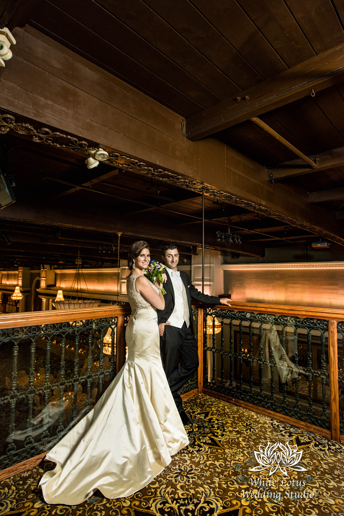 246 - Wedding - Toronto - Liberty Grand - Bride and Groom - PW