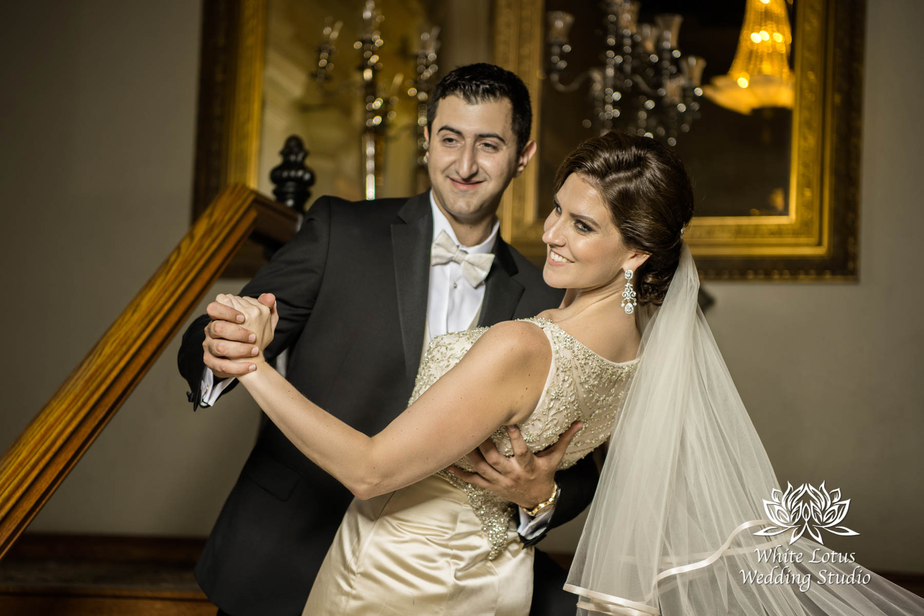 179 - Wedding - Toronto - Liberty Grand - Bride and Groom - PW