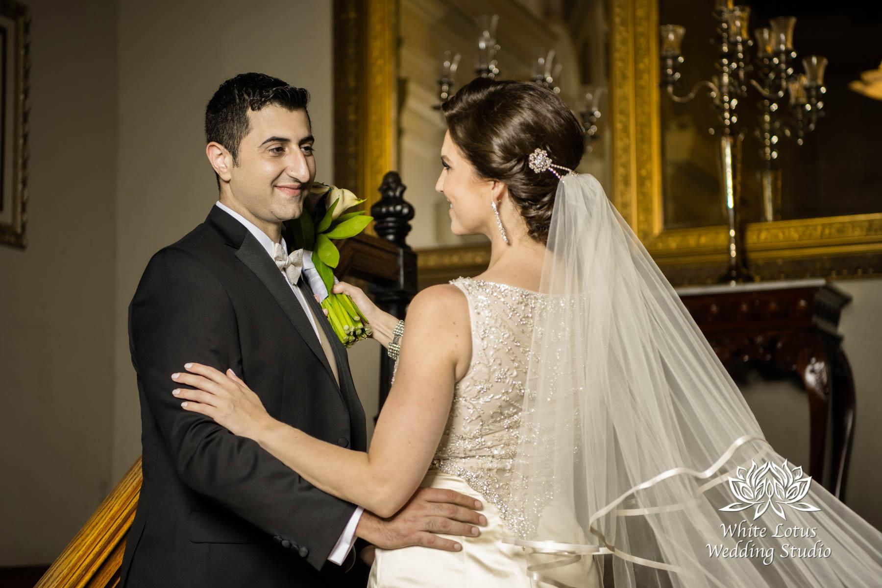 178 - Wedding - Toronto - Liberty Grand - Bride and Groom - PW