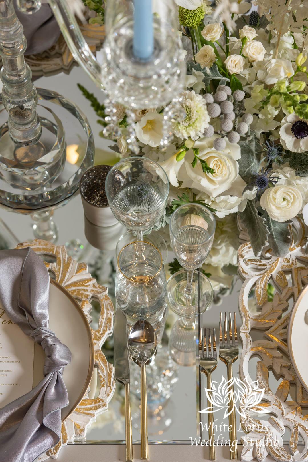 166- GLAM WINTERLUXE WEDDING INSPIRATION