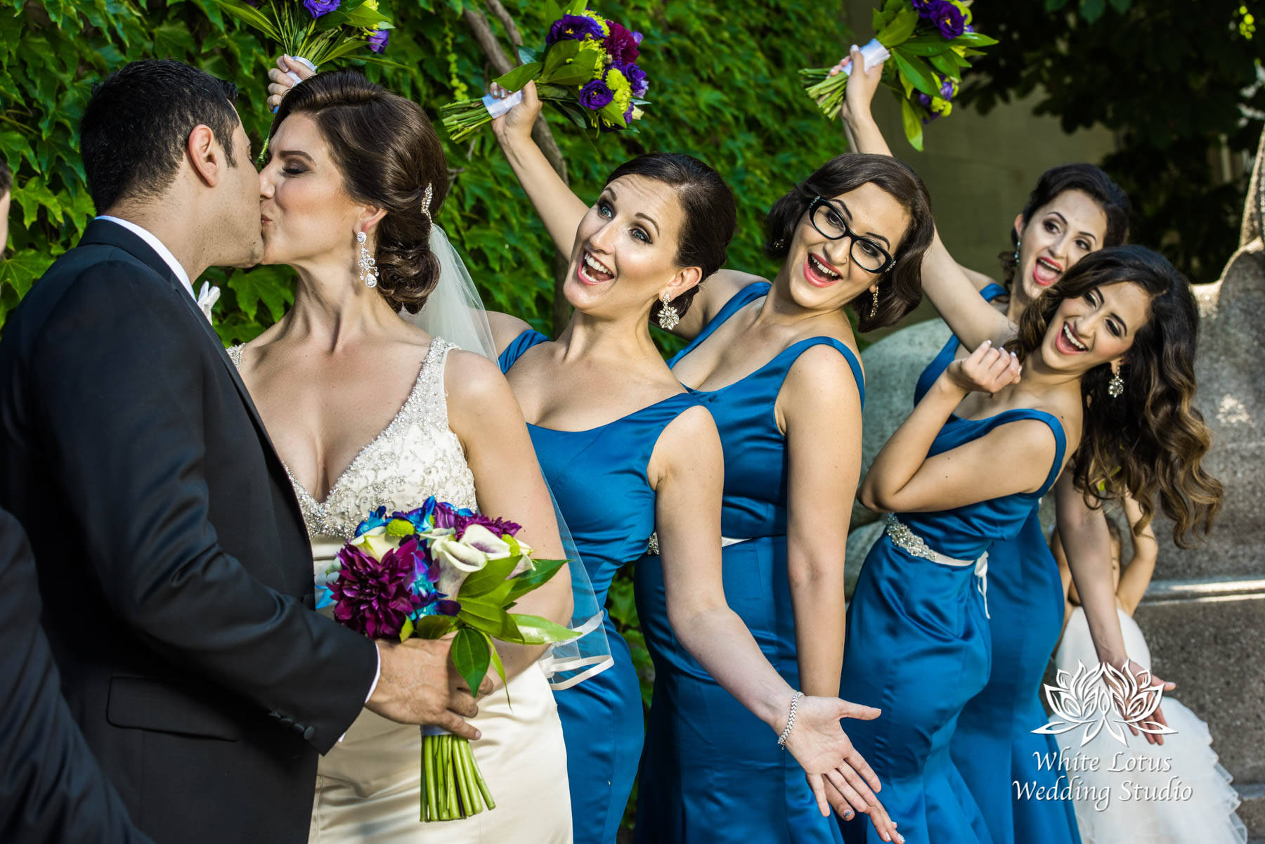 137 - Wedding - Toronto - Liberty Grand - Bridal Party - PW