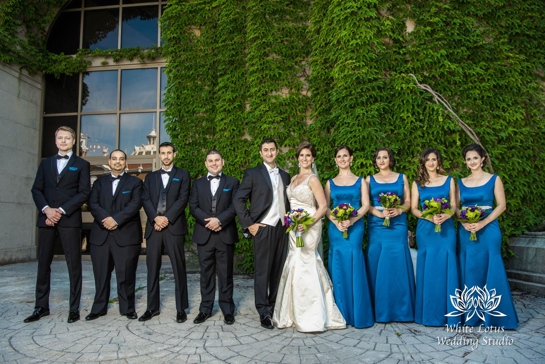 133 - Wedding - Toronto - Liberty Grand - Bridal Party - PW
