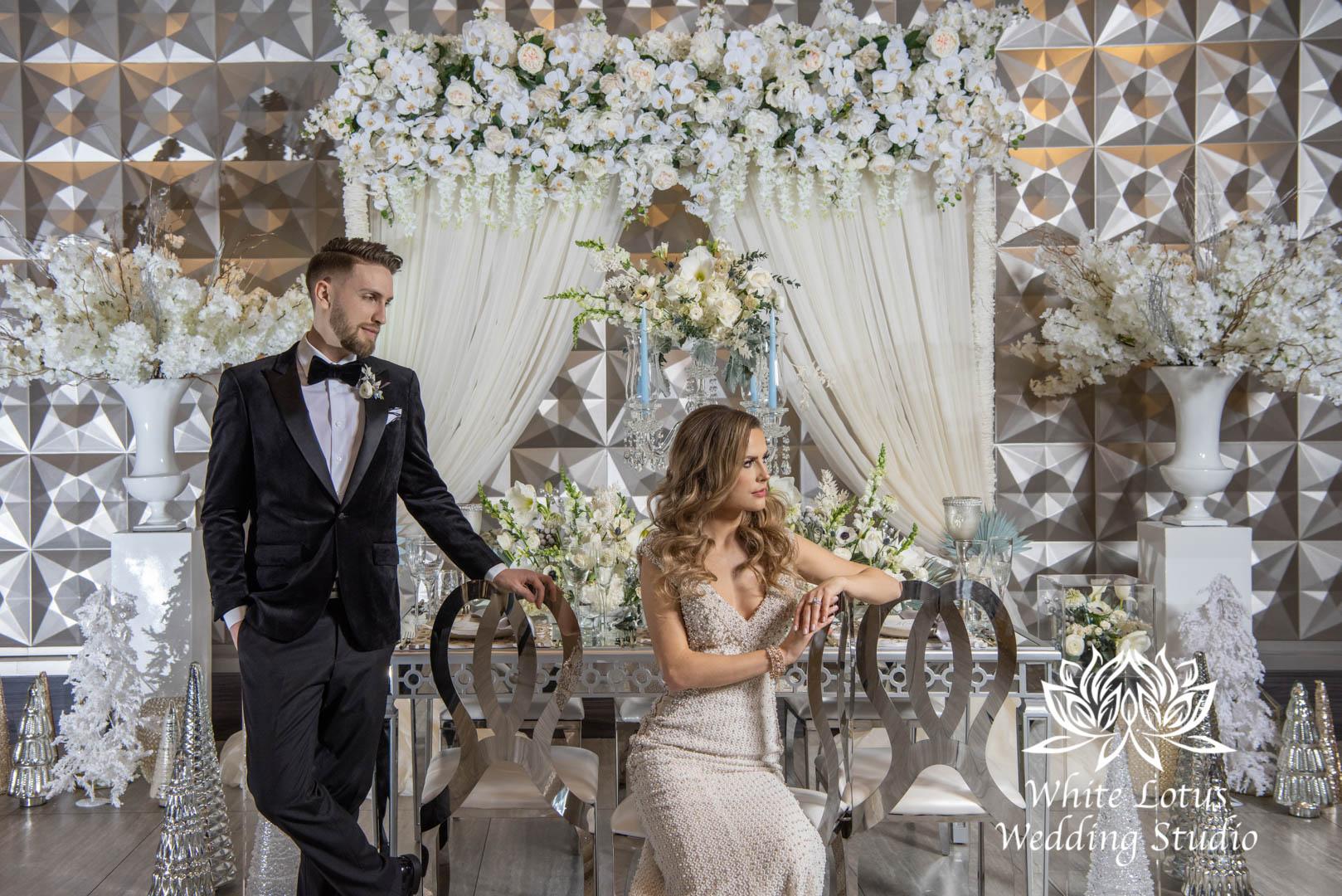 136- GLAM WINTERLUXE WEDDING INSPIRATION