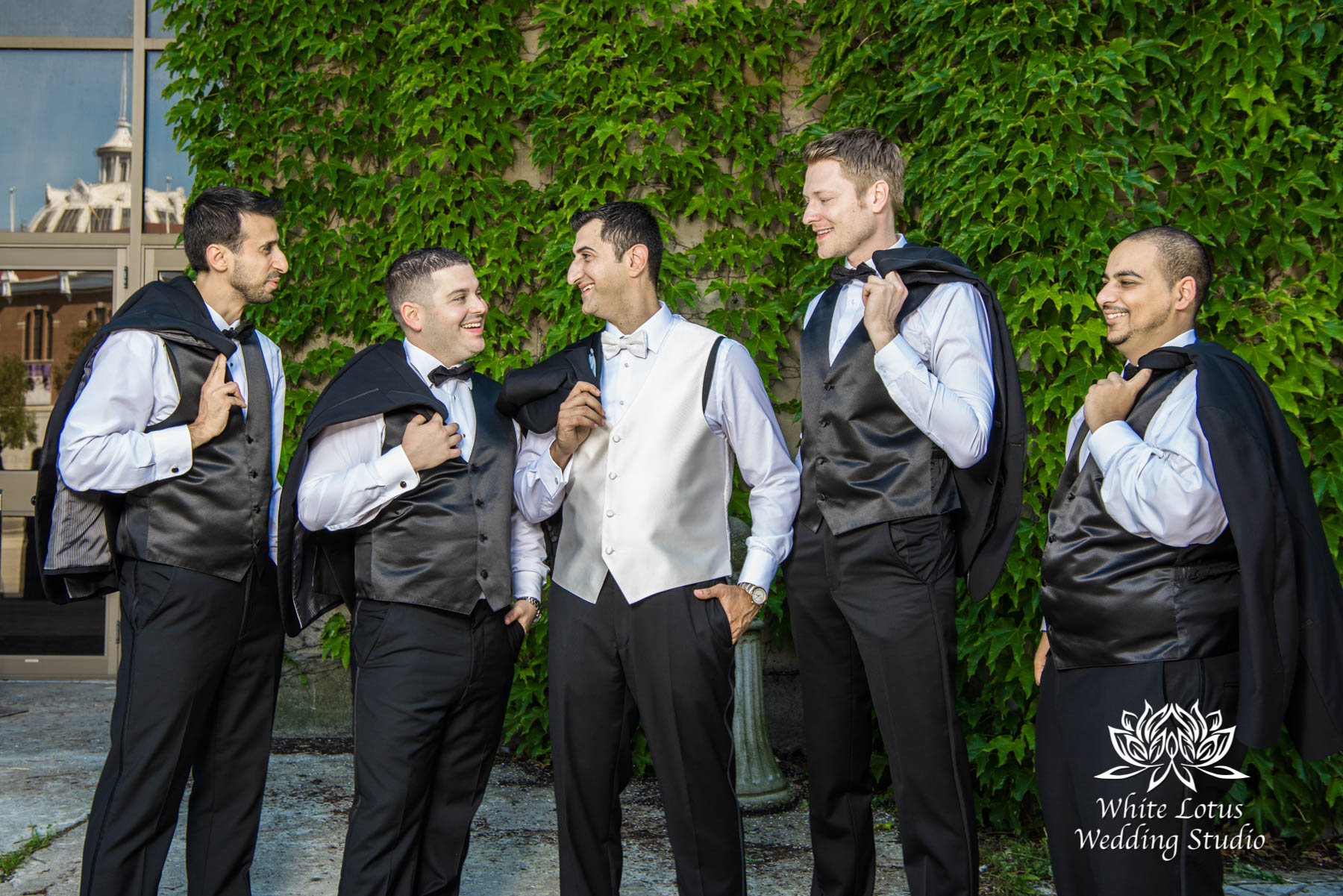 173 - Wedding - Toronto - Liberty Grand - Groomsmen - PW