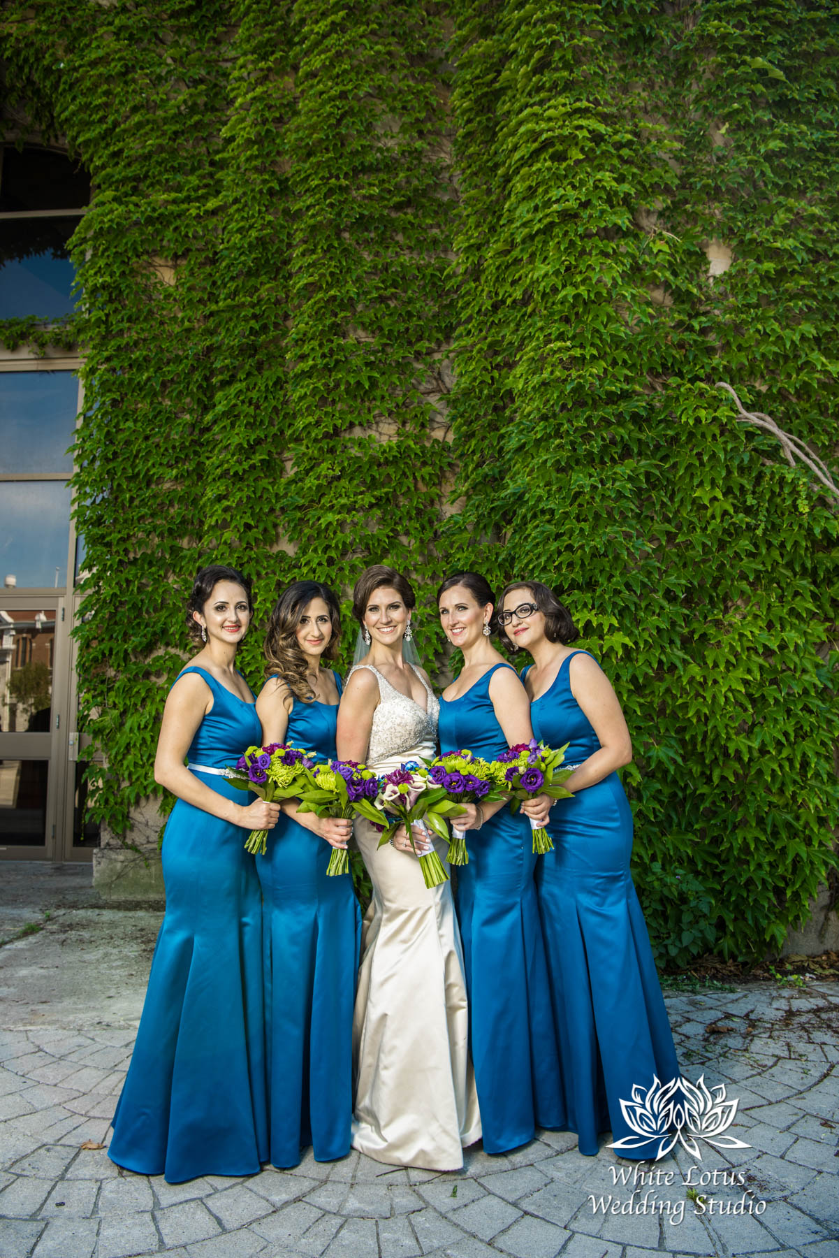 147 - Wedding - Toronto - Liberty Grand - Bridesmaids - PW
