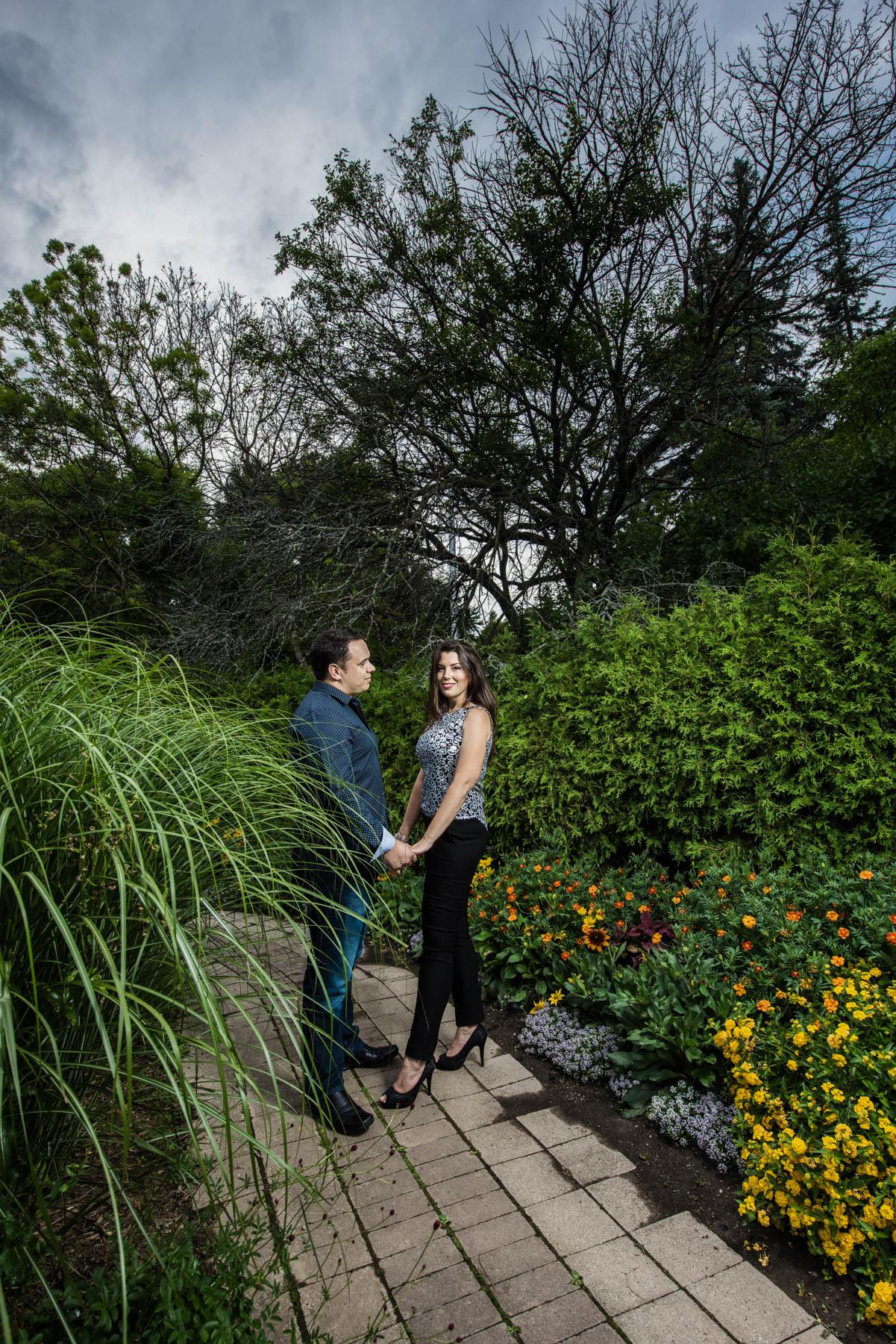 020 - Engagement JJ Alexander Muir Memorial Gardens
