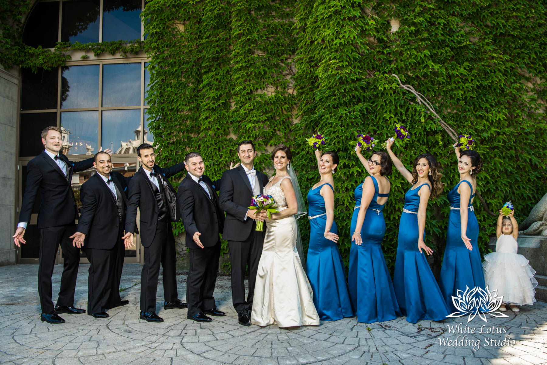 136 - Wedding - Toronto - Liberty Grand - Bridal Party - PW