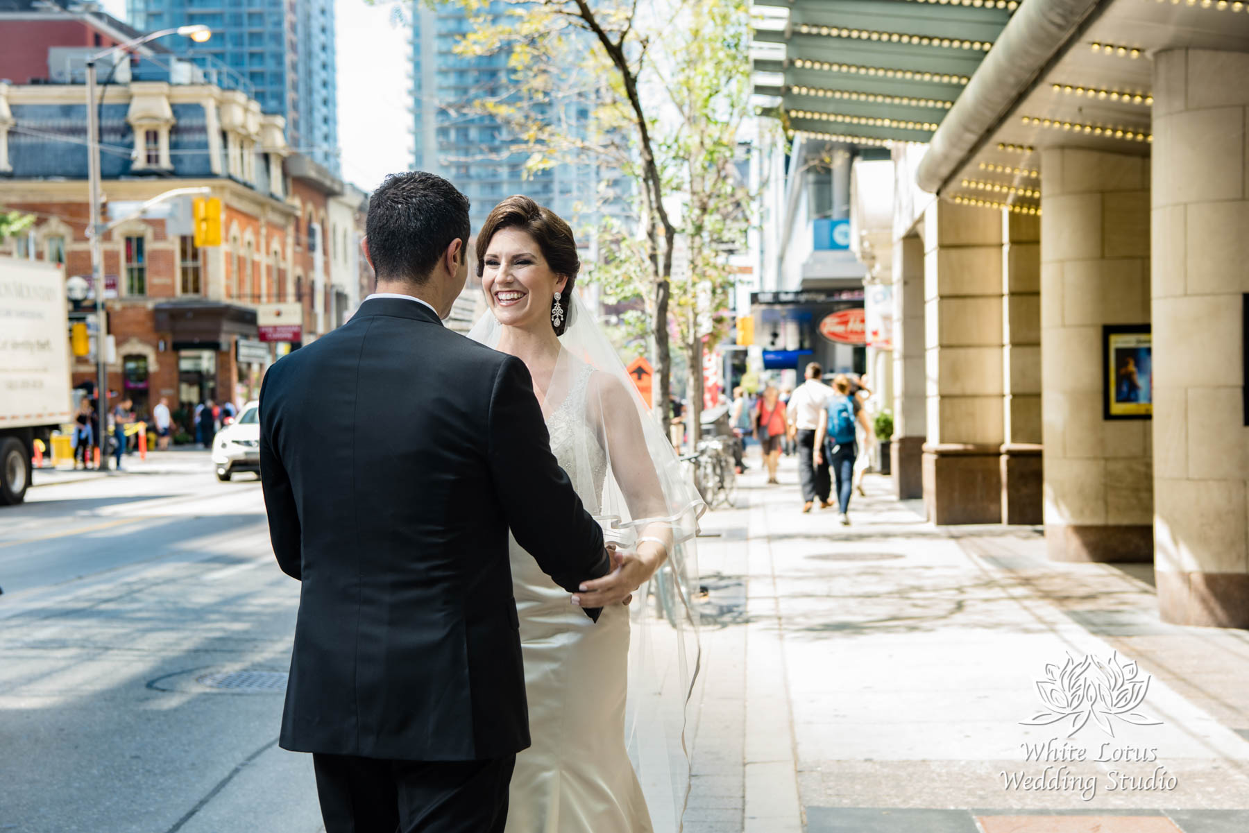 064 - Wedding - Toronto - First Look - Reveal - PW