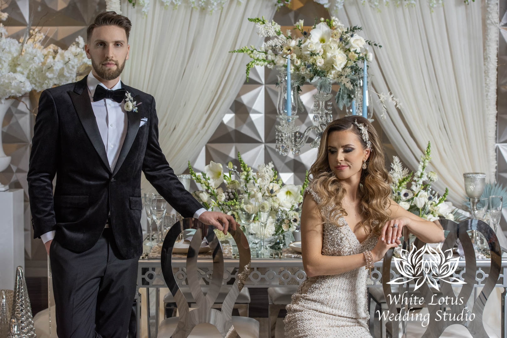 135- GLAM WINTERLUXE WEDDING INSPIRATION