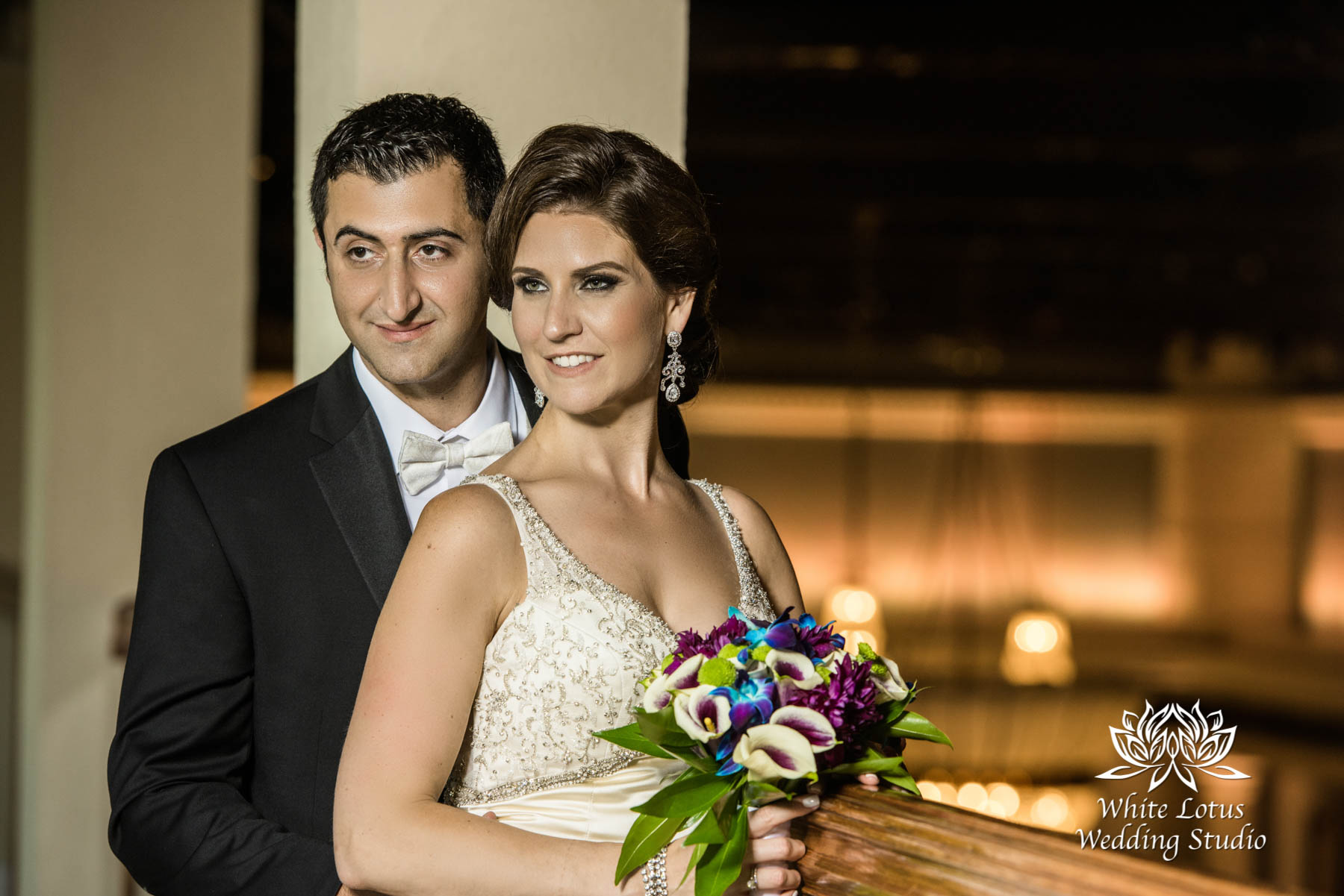 249 - Wedding - Toronto - Liberty Grand - Bride and Groom - PW