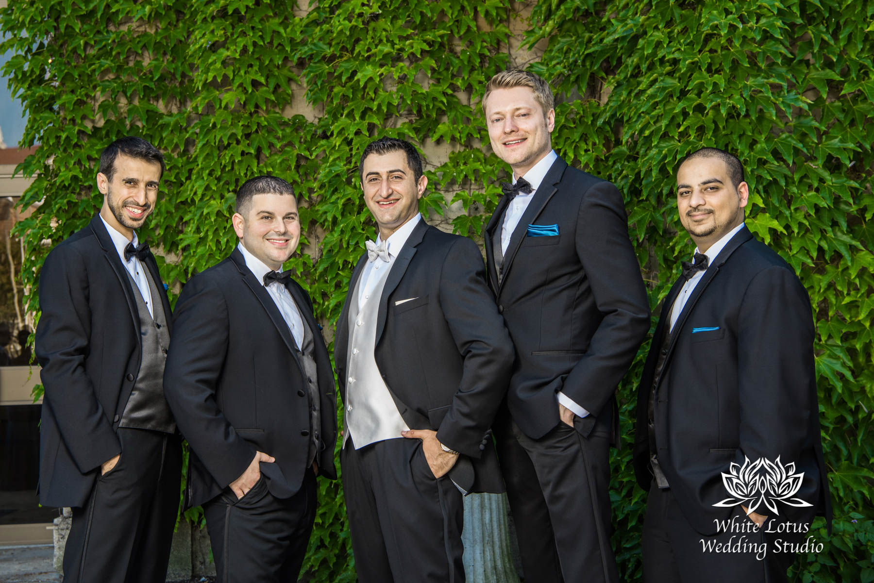 166 - Wedding - Toronto - Liberty Grand - Groomsmen - PW