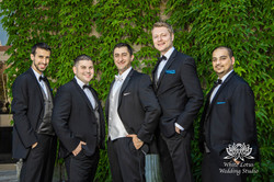 166 - Wedding - Toronto - Liberty Grand - Groomsmen - PW