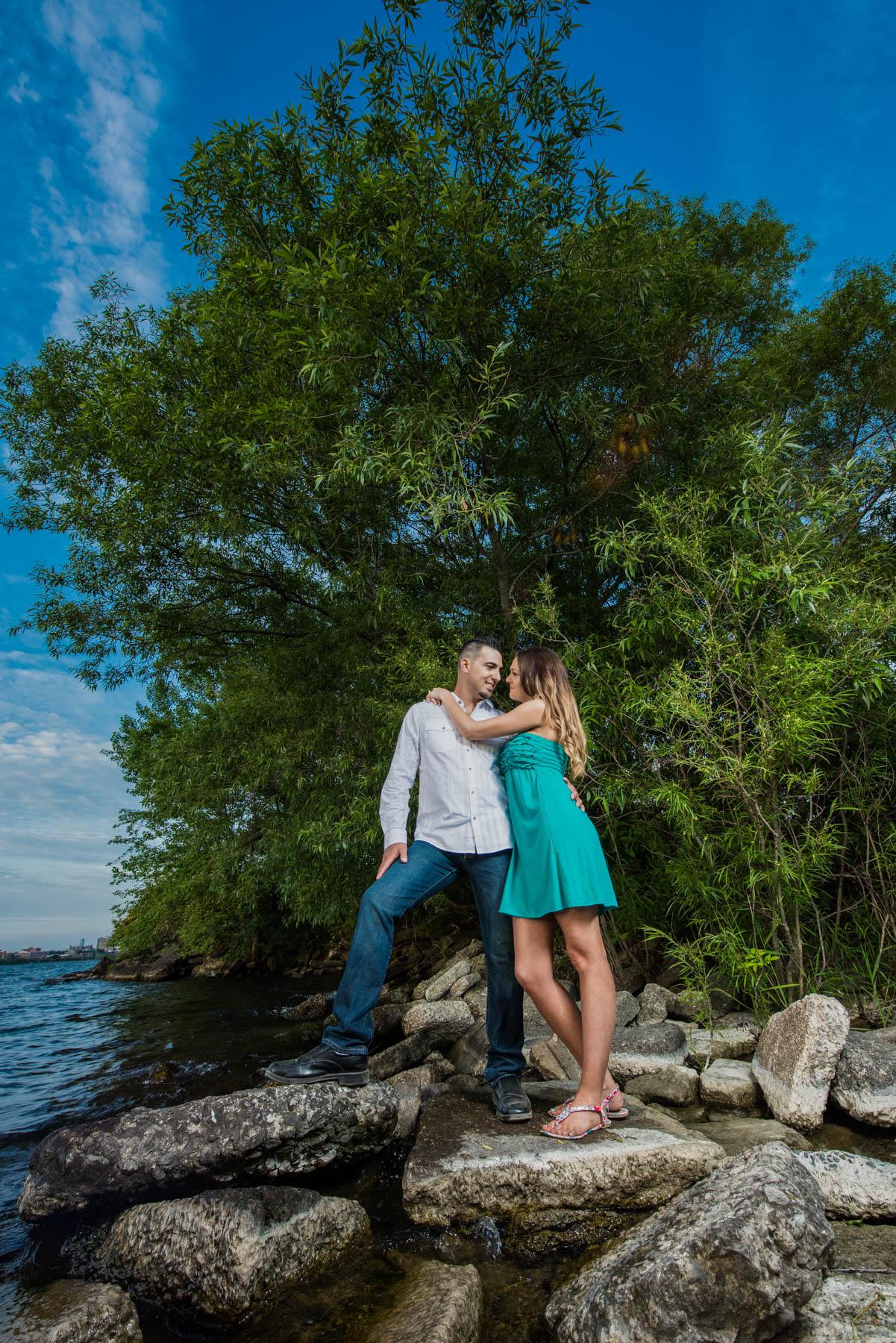 044 - Engagement CJ Humber Bay Park
