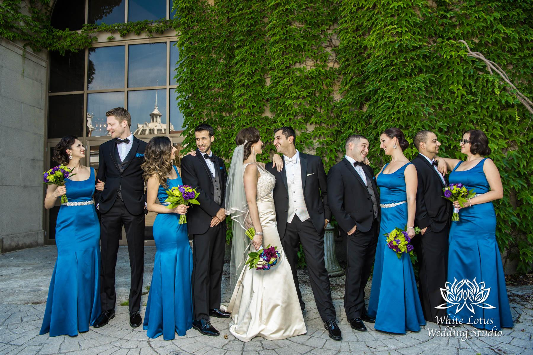 141 - Wedding - Toronto - Liberty Grand - Bridal Party - PW