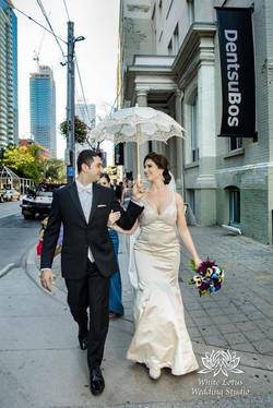 066 - Wedding - Toronto - First Look - Reveal - PW