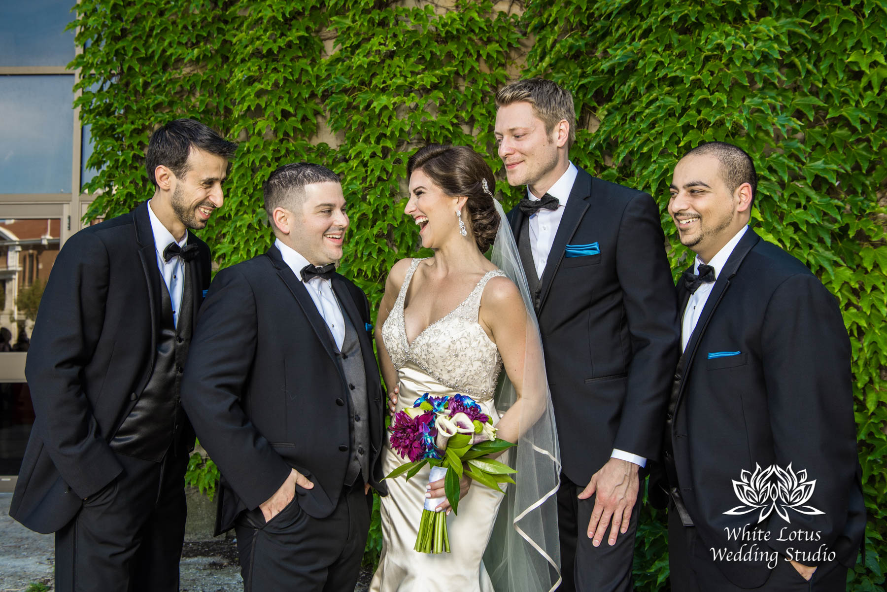 162 - Wedding - Toronto - Liberty Grand - Bridal Party - PW