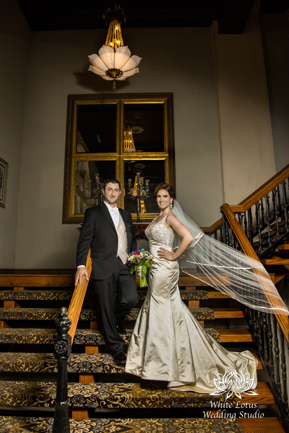 176 - Wedding - Toronto - Liberty Grand - Bride and Groom - PW