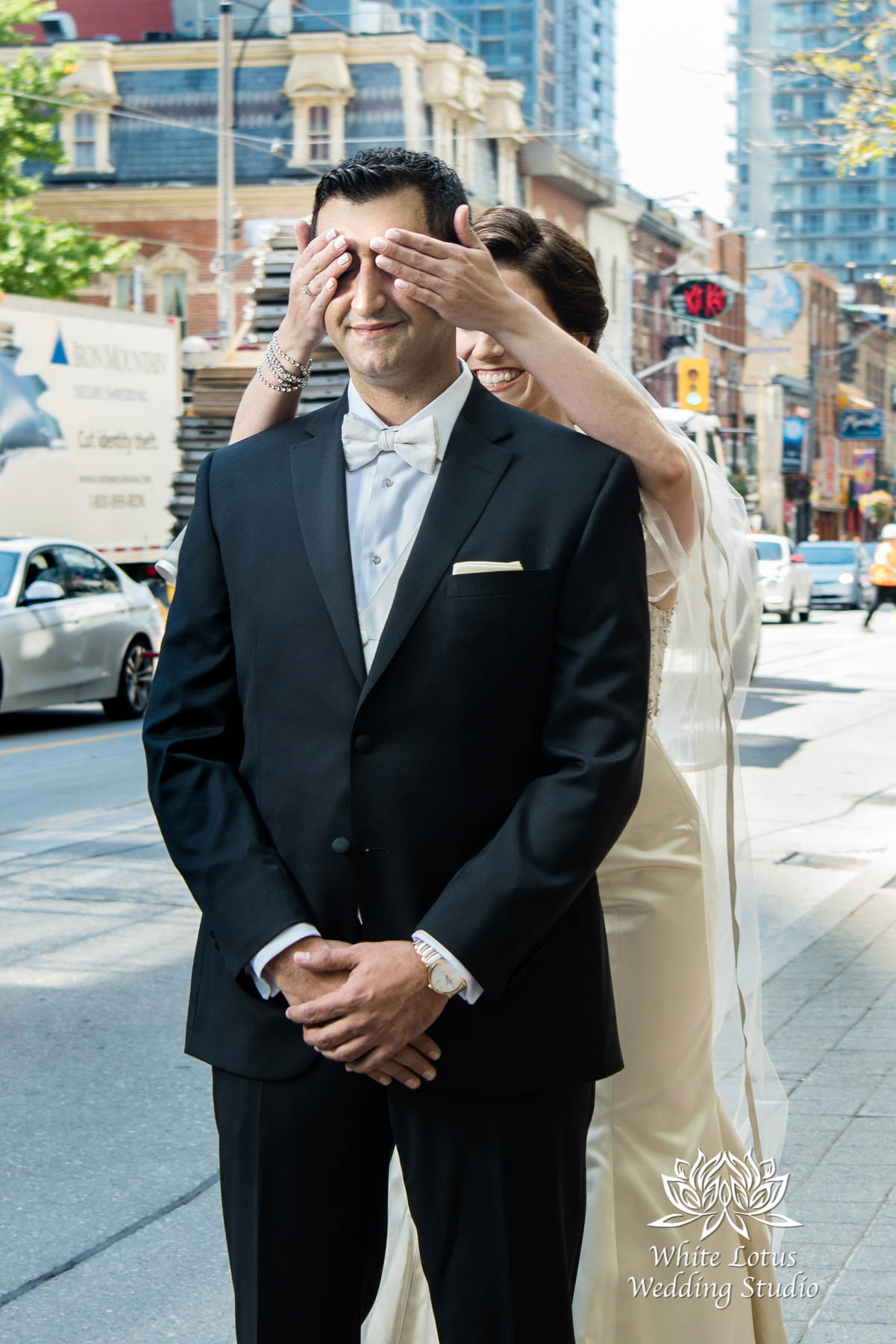 063 - Wedding - Toronto - First Look - Reveal - PW