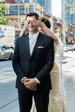 063 - Wedding - Toronto - First Look - Reveal - PW