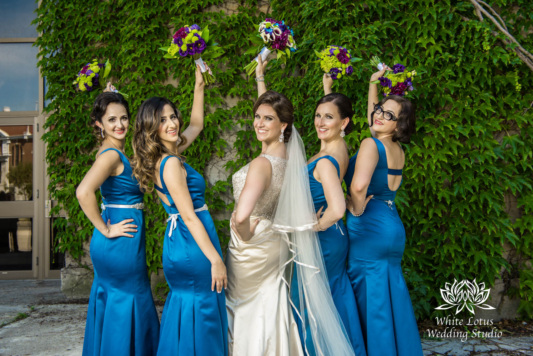 158 - Wedding - Toronto - Liberty Grand - Bridesmaids - PW