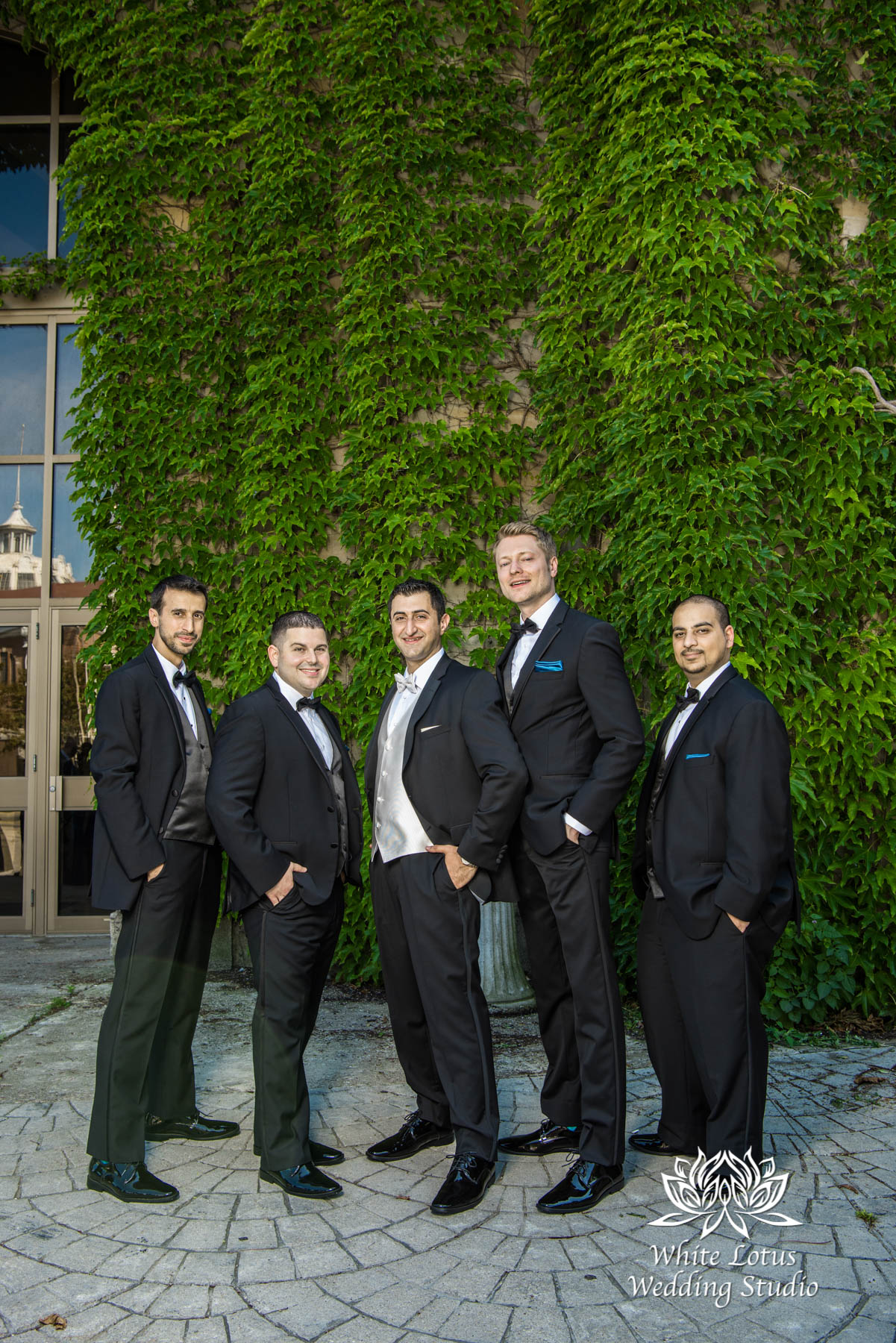 168 - Wedding - Toronto - Liberty Grand - Groomsmen - PW