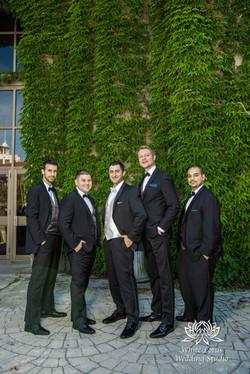 168 - Wedding - Toronto - Liberty Grand - Groomsmen - PW