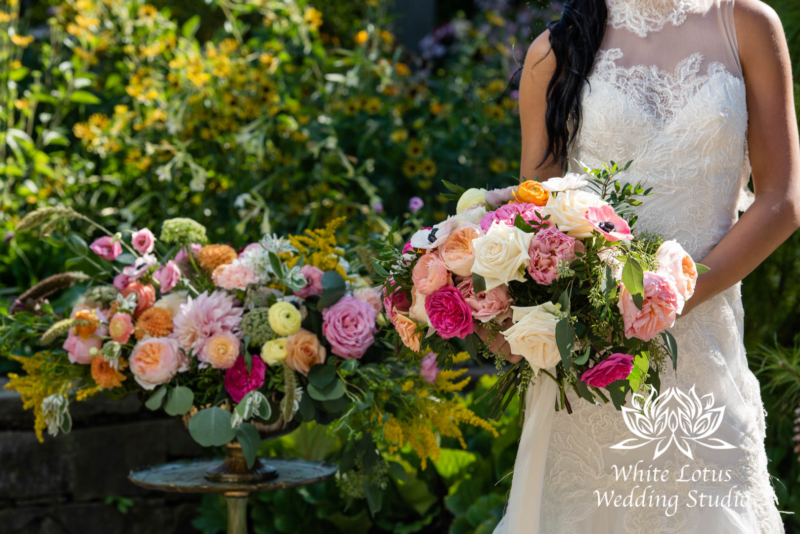 155- SPRING GARDEN WEDDING INSPIRATION