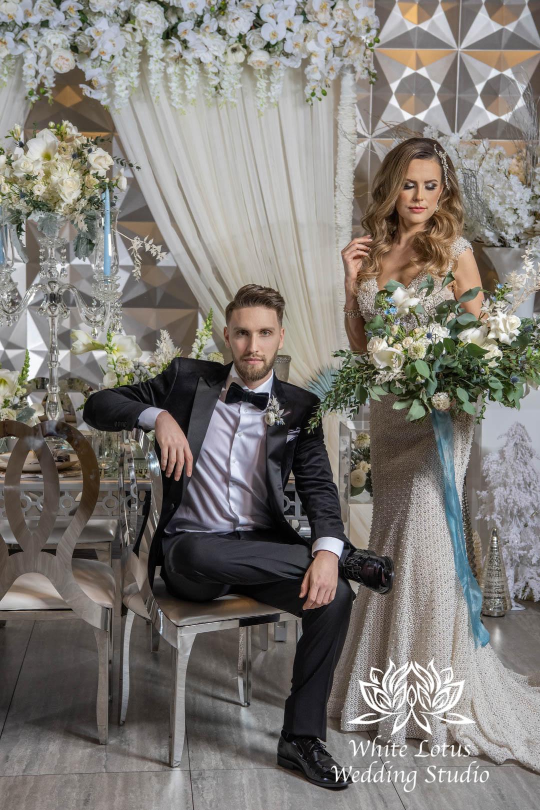 144- GLAM WINTERLUXE WEDDING INSPIRATION