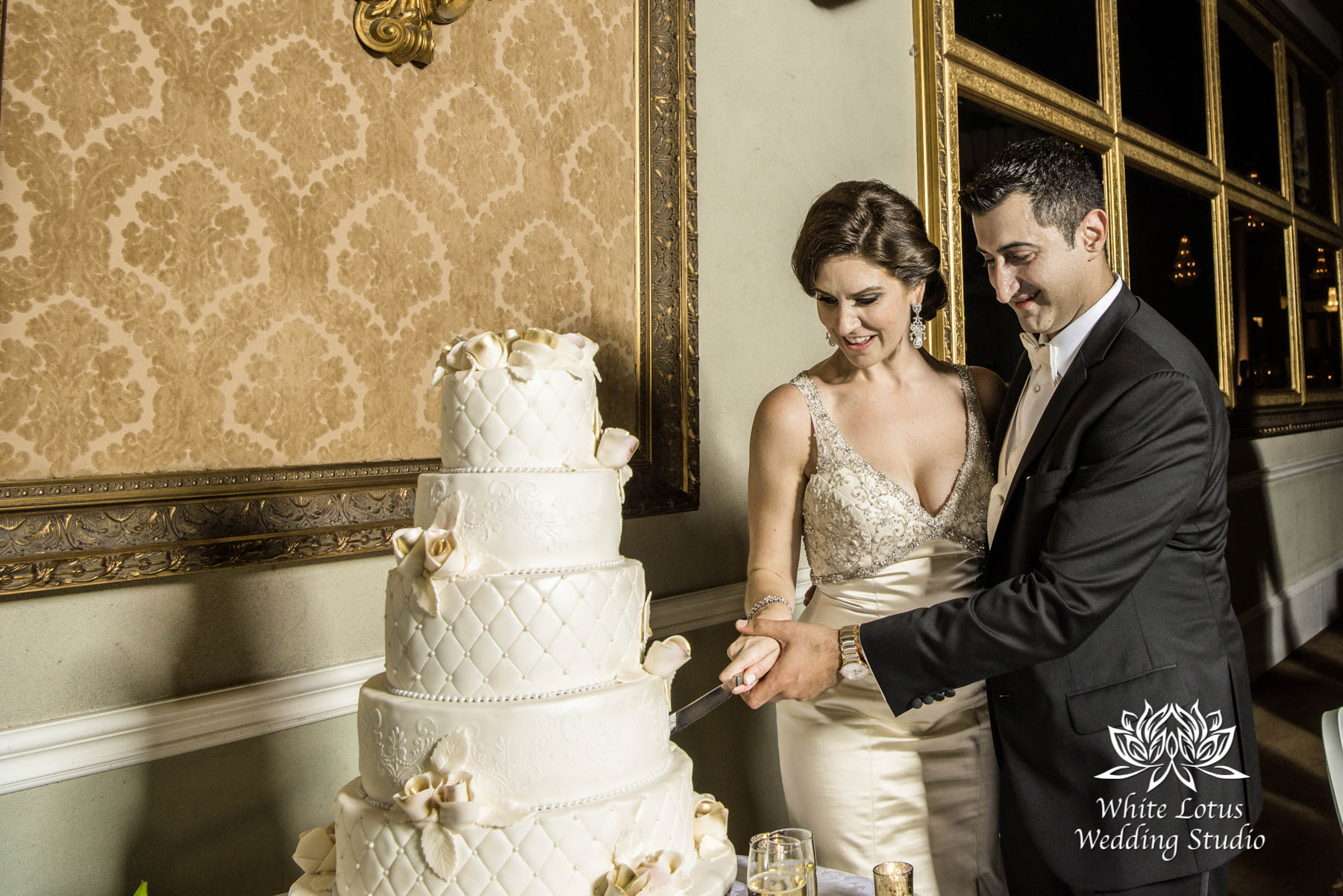 315 - Wedding - Toronto - Liberty Grand - Cake Cutting - PW