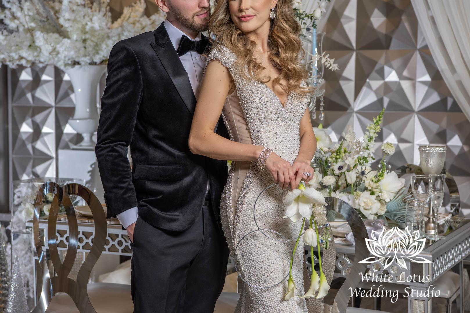 142- GLAM WINTERLUXE WEDDING INSPIRATION