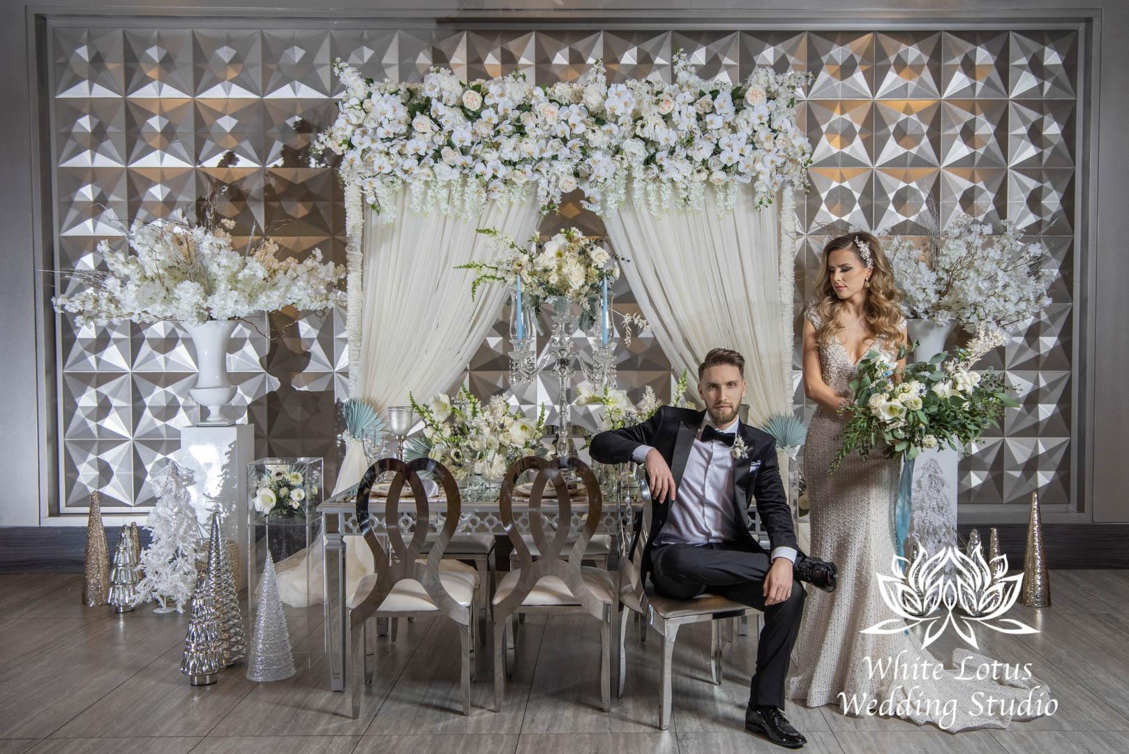 145- GLAM WINTERLUXE WEDDING INSPIRATION