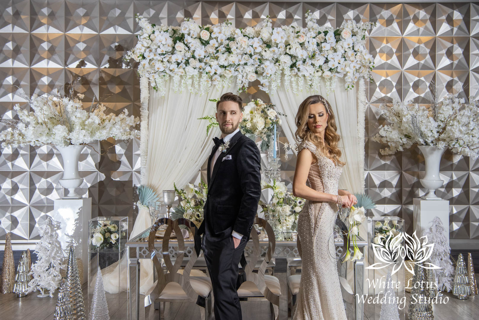 139- GLAM WINTERLUXE WEDDING INSPIRATION
