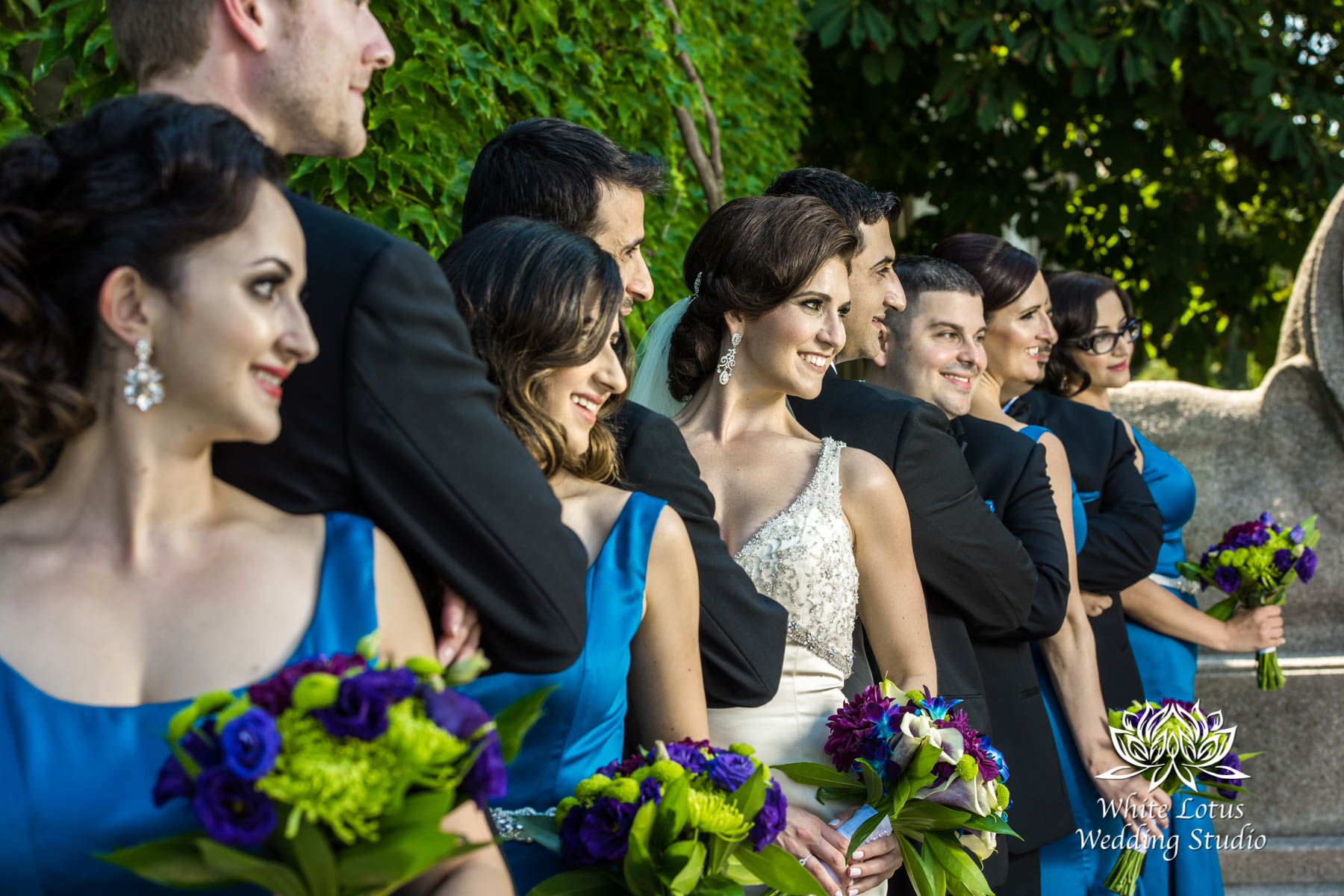 142 - Wedding - Toronto - Liberty Grand - Bridal Party - PW