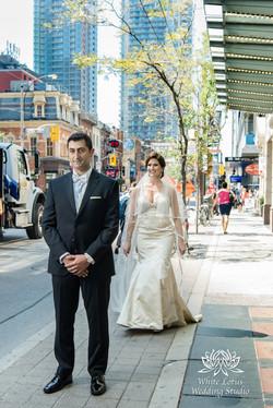 061 - Wedding - Toronto - First Look - Reveal - PW