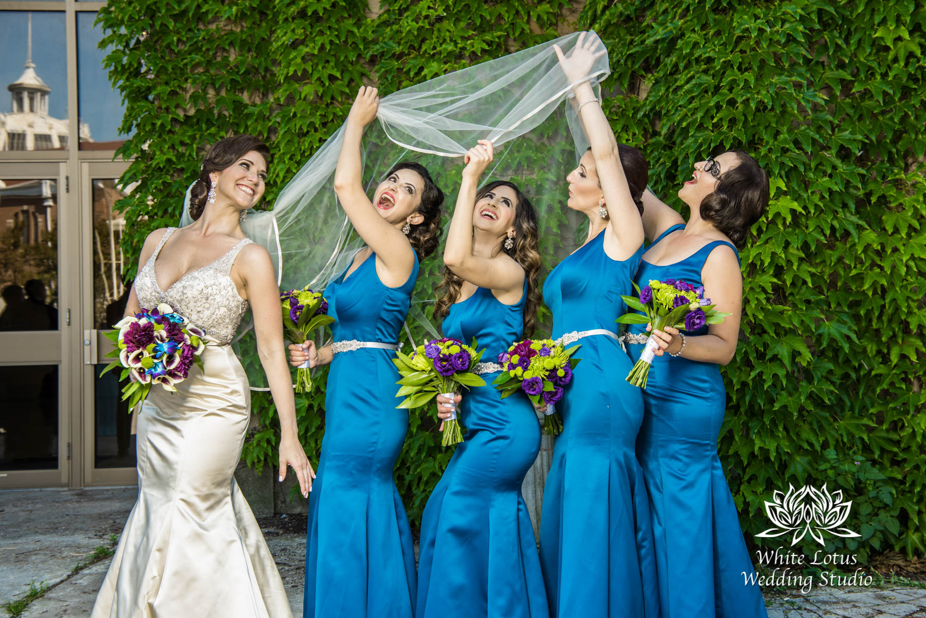 154 - Wedding - Toronto - Liberty Grand - Bridesmaids - PW