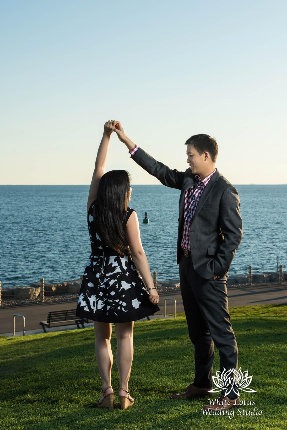042 - Trillium Park - Toronto - Engagement