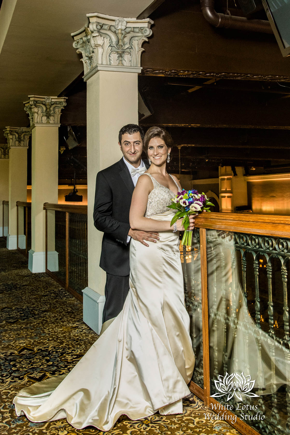 248 - Wedding - Toronto - Liberty Grand - Bride and Groom - PW